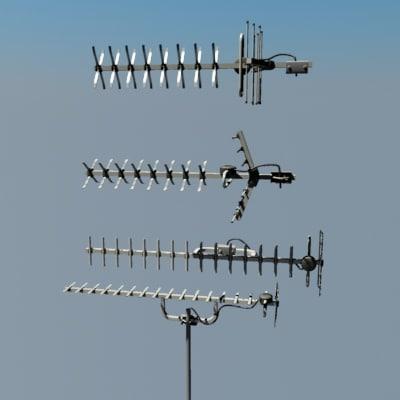 television aerials yagi max