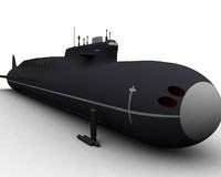 borei sub 3d model