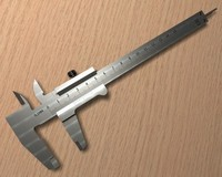 3d sliding calipers stangenzirkul model