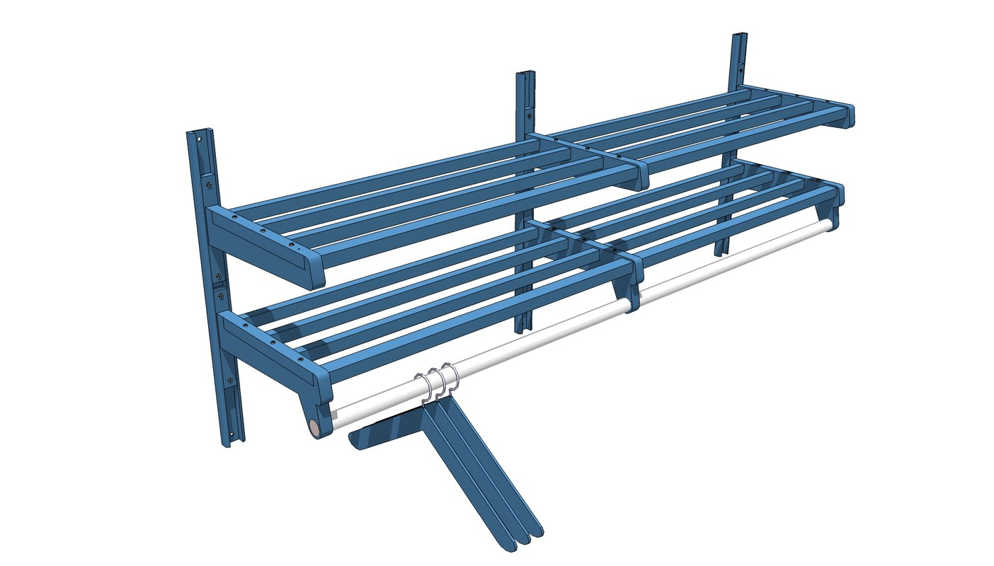 hanger coat rack 3d model