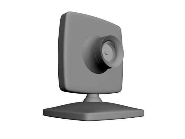 free camera 3d model