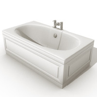 tub bathroom 3d model