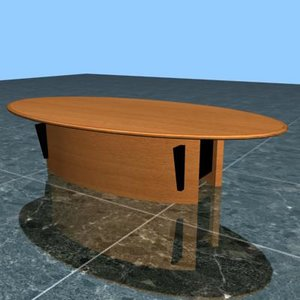 conference table 3d model