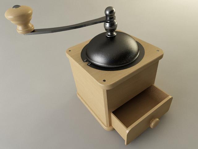 coffee grinder 3d model