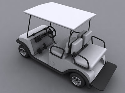 golf cart 3d 3ds