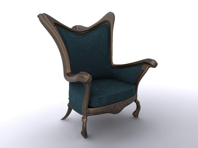 max gothic arm chair