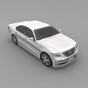 car lexus ls460 3ds