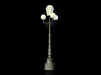 street street-lamp lamp max