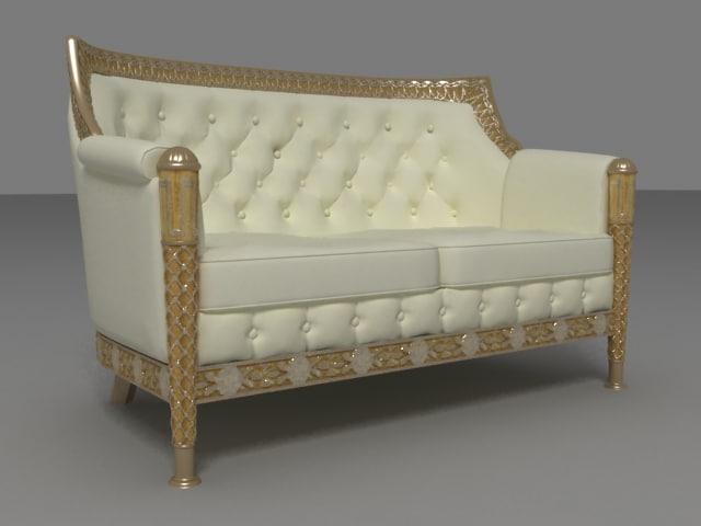3d model sofa venus