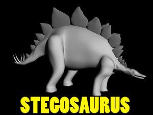 stegosaurus apatosaurus triceratops 3ds
