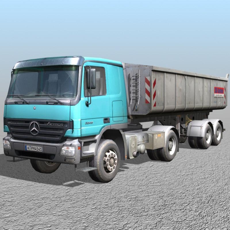 tipping truck 3d model