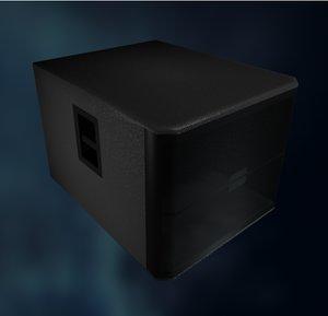 jbl sub 3d model