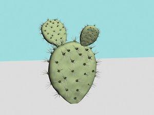 3d max thorn cactus