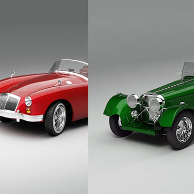 3d model of mga ss100
