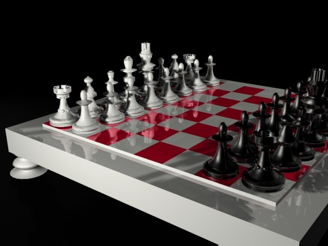 chess table max