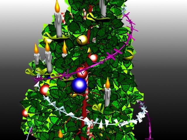 free max mode christmas tree