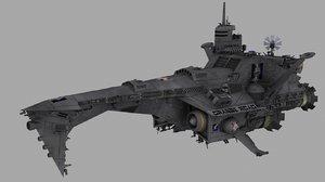 conqueror warship 3d model
