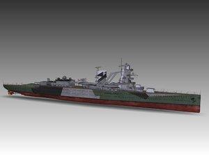 3dsmax ruyter class cruiser