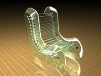 GLASS CHAIR.c4d
