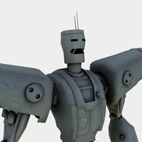 3d giant robot model