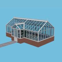 victorian greenhouse 3d model