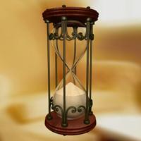 classic hourglass hourglass03 max
