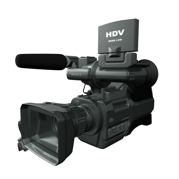 3ds max sony camera