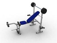 3d bodybuilding press