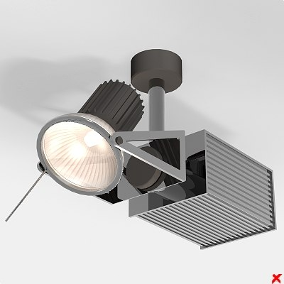 3d lamp adjustable