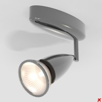 lamp adjustable 3d model