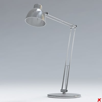 3d lamp office model