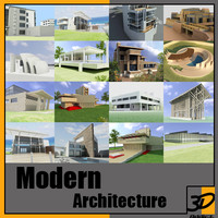 3d modern architecture der rohe model