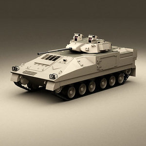 3d british fv510 warrior