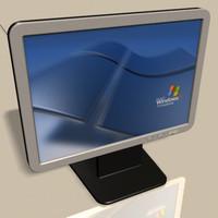 monitor 3d model