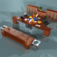 modular office set obj
