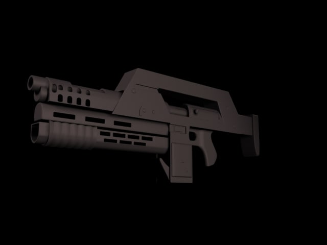 future gun 3d model