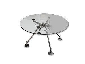 3d model norman foster nomos desk