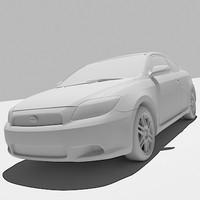 toyota sciontc 20k 3d model