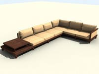 sofa sectional 3d max