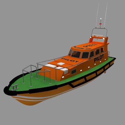 3d model pilot launch