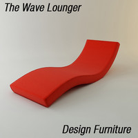 3ds max wave lounger