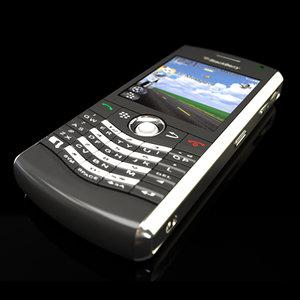3d blackberry pearl 8130 pda