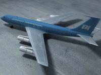 707 plane 3ds