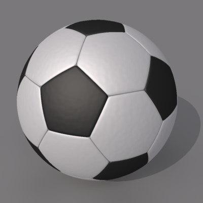 3ds max football ball