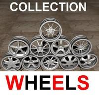 3d 10 wheels