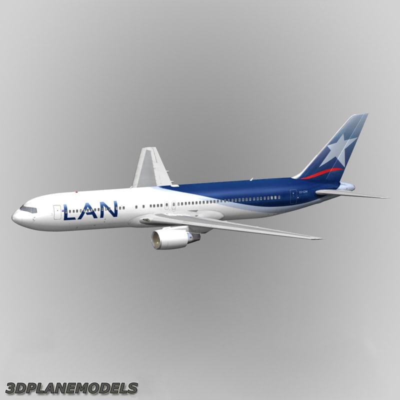 maya b767-300 lan chile airlines