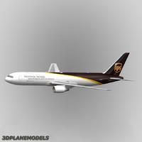 3d model ups 767