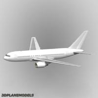 lwo b767-200 generic white 767-200