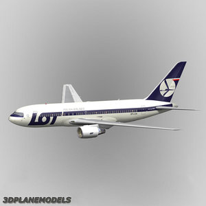 3d b767-200 lot polish airlines