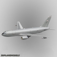 3d kc-767 tanker transport aircraft model